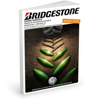 Brochure tarifs BRIDGESTONE JUIN 2020